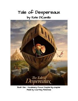 Tale of Despereaux Book One - Vocabulary Focus