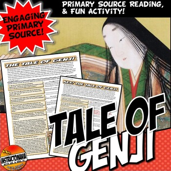 Medieval Japan Tale of Genji Common Core Literacy & Excerp