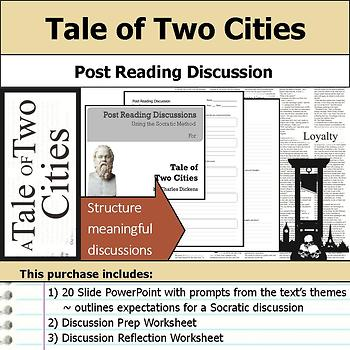 Tale of Two Cities - Socratic Method - Post Reading Discussions