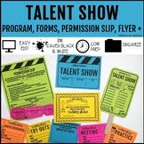 Talent Show Program Fan