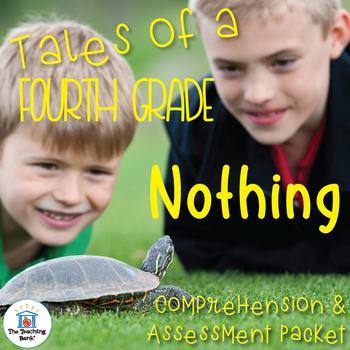Tales of a 4th Grade Nothing Comprehension and Assessment Bundle
