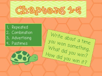 Tales of a 4th Grade Nothing Writing Prompts and Vocabulary Words