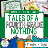 Tales of a Fourth Grade Nothing (Complete CCSS Novel Unit)