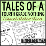 Tales of a Fourth Grade Nothing Interactive Notebook