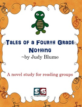 Tales of a Fourth Grade Nothing Novel Study - Vocab, Compr