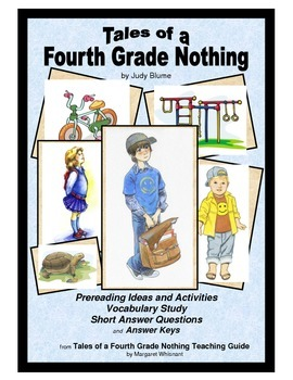 Tales of a Fourth Grade Nothing Prereading, Vocabulary, Sh