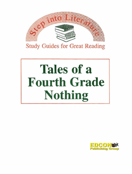 Tales of a Fourth Grade Nothing Study Guide for Great Reading