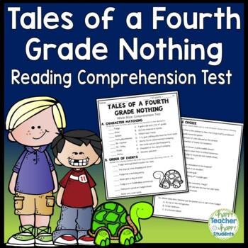 Tales of a Fourth Grade Nothing Test: Final Book Test with