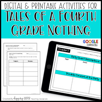 Tales of a Fourth Grade Nothing Unit