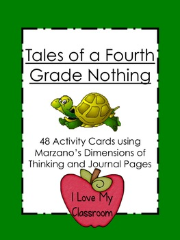 Tales of a Fourth Grade Nothing Unit (Activity Cards and Journal)