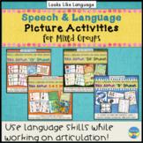 Articulation & Language Games: 450 Picture Cards Bundle