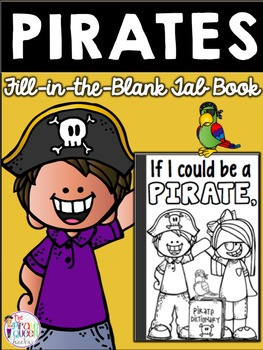 If I Could Be a Pirate Printable Fill-in-the-Blank Tab Act