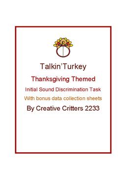Talkin' Turkey Initial Sound Discrimination Probe