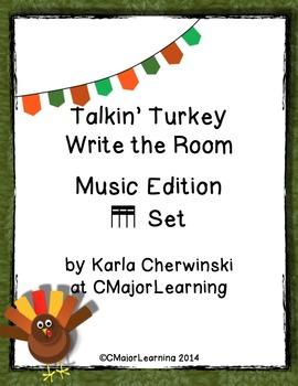 Talkin' Turkey Write the Room Music Edition tika-tika