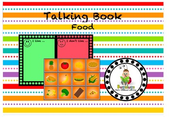 Talking Book Food Page