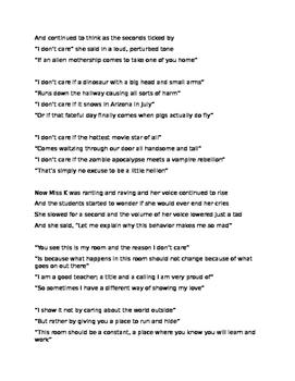 Talking Poem