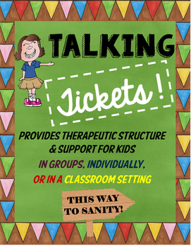 Talking Tickets for Group, Classroom & Individual Use