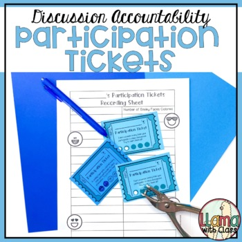 Accountability Talking Tickets: A Way to Encourage Student