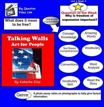Talking Walls SmartBoard Menu