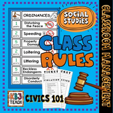 Classroom Management: Class Rules (Classroom Decor Pocket