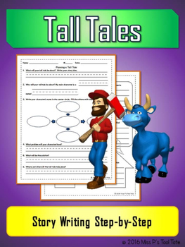 Tall Tale: Story Writing Step-by-Step