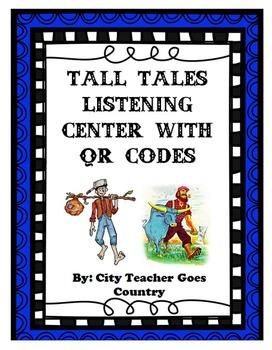 Tall Tales Listening Center QR Codes (4 stories)