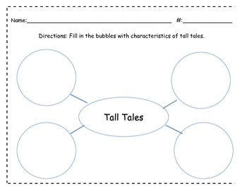 Tall Tales characteristics web