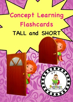 Tall and Short Concept Learning Flashcards