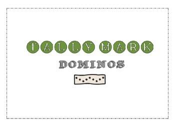 Tally Mark Dominos