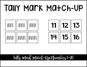 Tally Mark Match-Up
