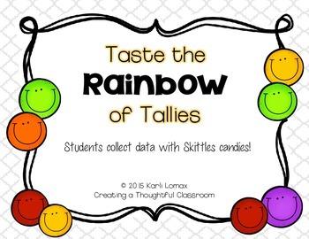 Tally Marks Activity with Skittles