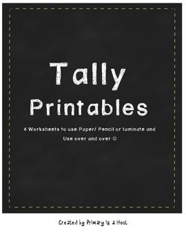 Tally Printables