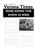 Taming of the Shrew - Writing a News Report based on the W