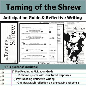 Taming of the Shrew by William Shakespeare - Anticipation