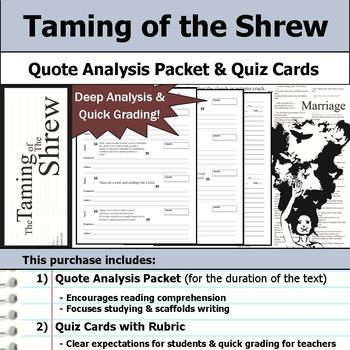 Taming of the Shrew by William Shakespeare - Quote Analysi