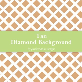 Tan Diamond Pattern Background