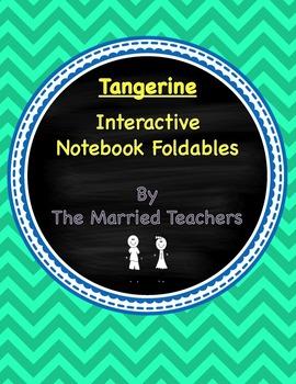 Tangerine Interactive Literature and Grammar Notebook Foldables