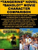 Tangerine Novel Sandlot Movie Character Comparison