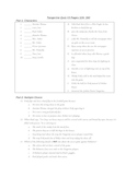 Tangerine Quiz #3 (Pages 116- 160)