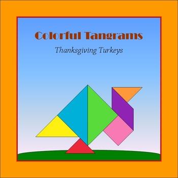 Tangram - 2 Thanksgiving Turkeys - Puzzle