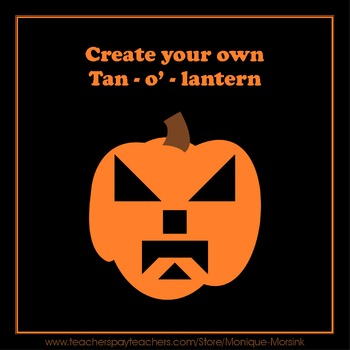 Tangram Halloween Pumpkins & Create your own Tan-O'-Lantern