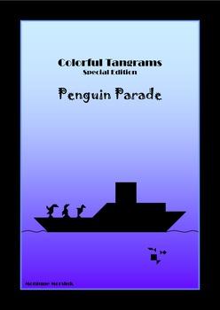 Tangram - 20 Penguin / Antarctica Puzzles - Large pack - P