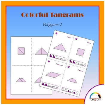 Tangram Polygons 2 - Construct 80 shapes