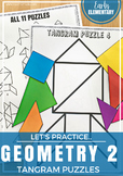 Tangram Puzzles - Geometry Practice Pages