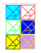 Tangram Seven Boards of Skill Dissection Puzzle Game 7 Fla