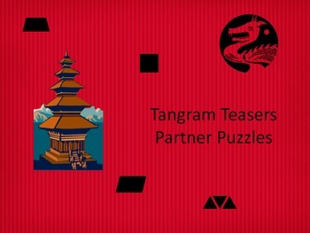 Tangram Teasers - A Partner Activity
