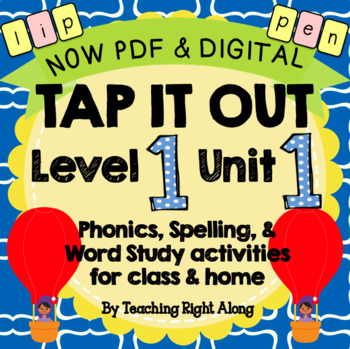 Tap It Out Unit 1 Level 1 (Letter Sounds, Formation, and K