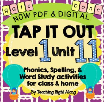 Tap It Out Unit 11 Level 1 (Long Vowel v-e Patterns)