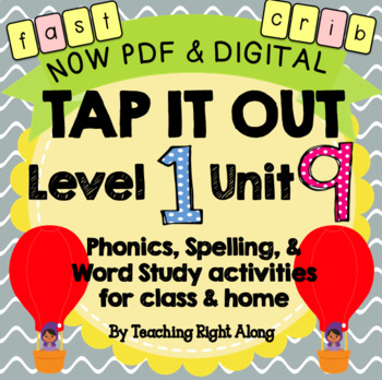 Tap It Out Unit 9 Level 1 (Open/Closed Syllables)