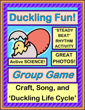"""Duckling Fun!"" - Game, Craft, and Song about Hatching Ducks!"